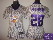 Signature 2016 Women Ladies Minnesota Vikings, 5 Teddy Bridgewater 28 Adrian Peterson 84 Cordarrelle Patterson,camouflage(China (Mainland))