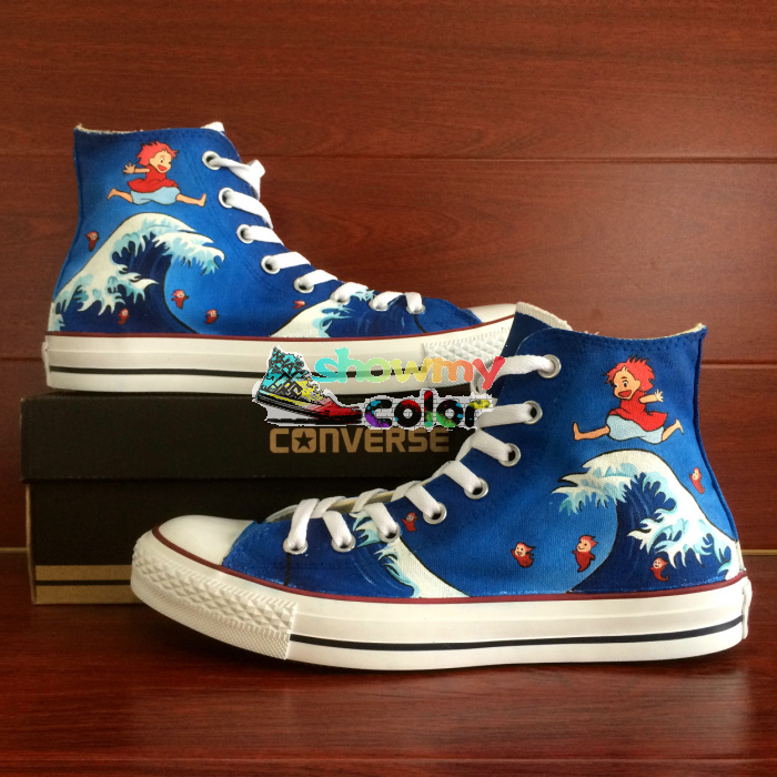 Anime Converse Shoes