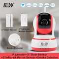 WiFi Camera IP Security Monitor Equipment 3 Door Sensor 3 Infrared Motion Sensor 1 Smoke Detector