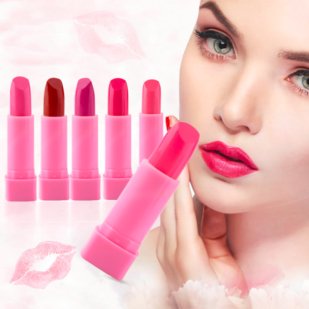 store product colorful brilliance design facinating tude lipstick waterproof beauty gloss makeup dro