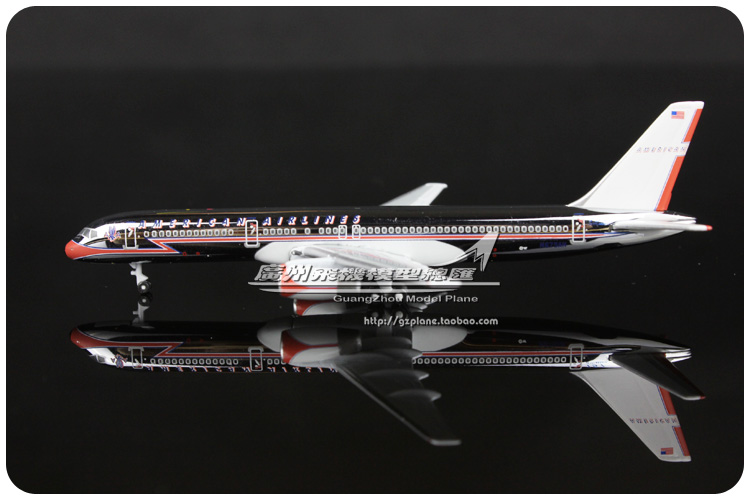 1:500 American Airlines Boeing B757 200 N679AN Plane Model Airways Airplane Model Souvenir Collections Free Shipping(China (Mainland))