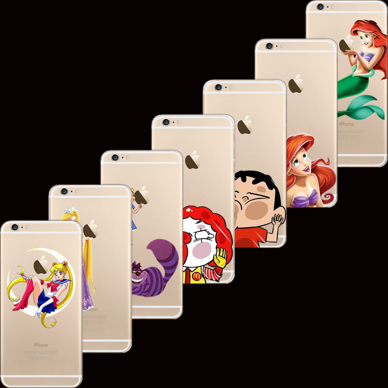 6/6S Newest Arrival Exquisite Design Painted Cartoon Character Cases For Apple iPhone 6 6S Case Shell Cover 2016 Newest(China (Mainland))