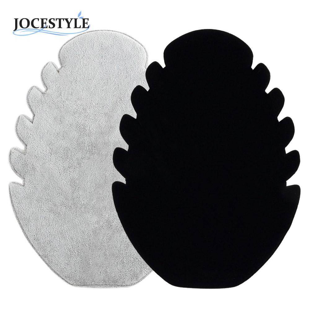 New Necklace Pendant White Black Velvet Necklace Bracelet Jewelry Display Stand Holder Rack Organizer Hard Display Stand(China (Mainland))