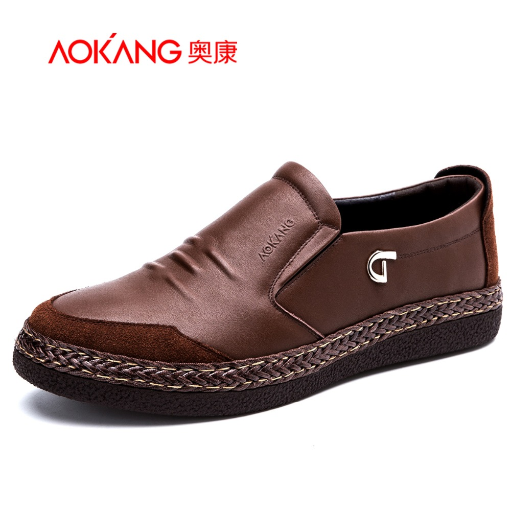 Aokang 2015 New Arrival Autumn&amp; Winter High Quality  Casual Mens Shoes Wear-resistant<br><br>Aliexpress