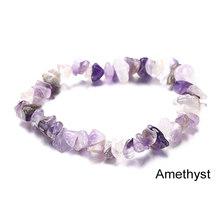 Artilady Natural Stone Bracelets for women Rope Chain Bracelet Handmade Quartz Jewelry for Women(China)