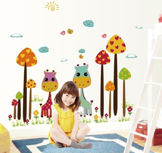 Popular sweet girls baby wallpapers buy cheap sweet girls for Baby room decoration wallpaper