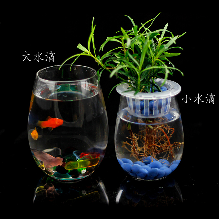 Free shippingSpecial training new small water dripping clear crystal glass vase flower vase minimalist home office(China (Mainland))