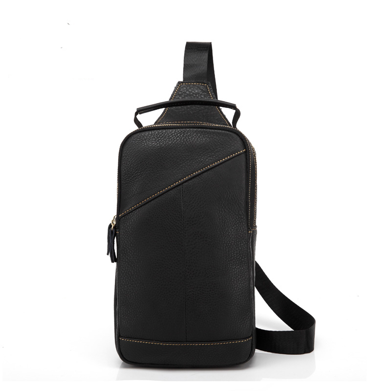 New arrival vintage fashion genuine leather chest bags for men crossbody man messenger bag with high quality shoulder bags 2015<br><br>Aliexpress