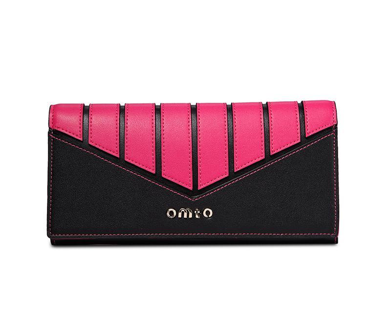 Fashion Hit color genuine leather women wallet long patter zipper women leather wallet brand designed women purse clutch(China (Mainland))