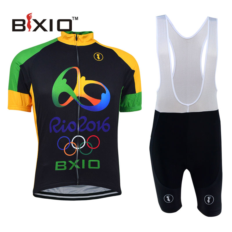 2016 Rio Olympic Cycling Jersey Maillot Ciclismo Hombre Summer Pro Bicycle Clothing Mountain Bike Clothes Bxio Brand BX-RIOTYPE(China (Mainland))