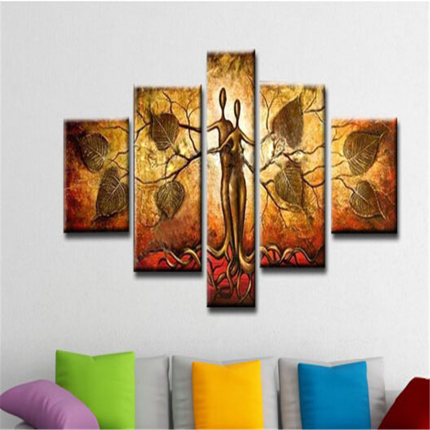 Huge Art Picture Handmade Abstract Oil Painting On Canvas Modern For Home Decor Hand Painted Wall Art Cuadros Decorativos(China (Mainland))