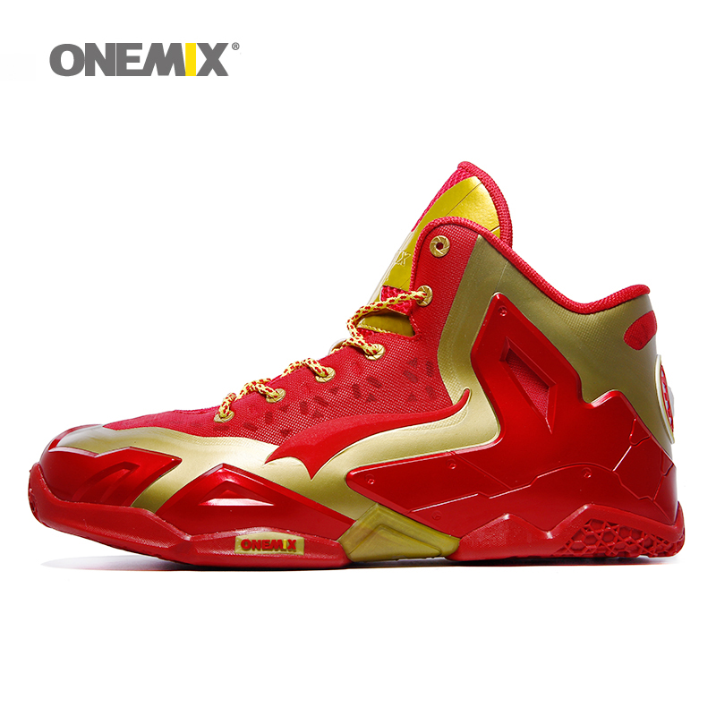 2016 Onemix new arrival mens basketball shoes cheap athletic sport sneakers antislip basketall boots free shipping US7-US12(China (Mainland))