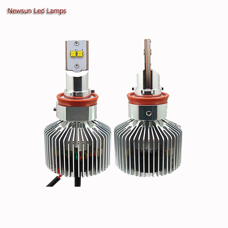 3000K 4000K 5000K 6000K Super bright H11 Led Car HeadLight Bulb Halogen Light Replacement Kits 12V 90W auto led head bulb<br>
