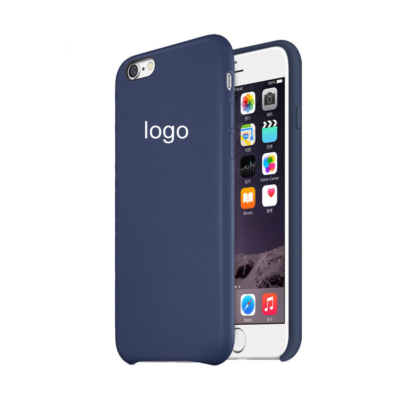 with Logo1:1 Original Design Official coque Luxury leather case for iphone 6 6s 4.7 inch case for iphone 6 6s plus cases(China (Mainland))