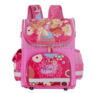New Multi-Style Winx Club Waterproof Backpack Kids Orthopedic School Bag for Girls School Bags EVA Winx, Princess, elsa mochila(China (Mainland))