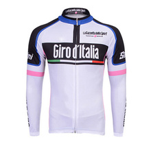 Buy Ropa ciclismo Men Cycling Jersey Bike Shirt Pro Team 2017 Long Sleeve Bicycle Clothing Breathable outdoor Sportwear Clothes E061 for $19.38 in AliExpress store