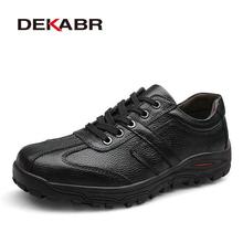 DEKABR Brand Size 38-48 Fashion Handmade Brand Genuine leather men Flats,Soft leather men Male Moccasins,High Quality Men Shoes(China (Mainland))