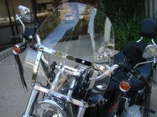 Kostenloser Versand Brand New Motorrad Windschutzscheibe Windschutzscheibe für Harley Davidson Sportster Dyna Glide Softail Klar Farbe(China (Mainland))