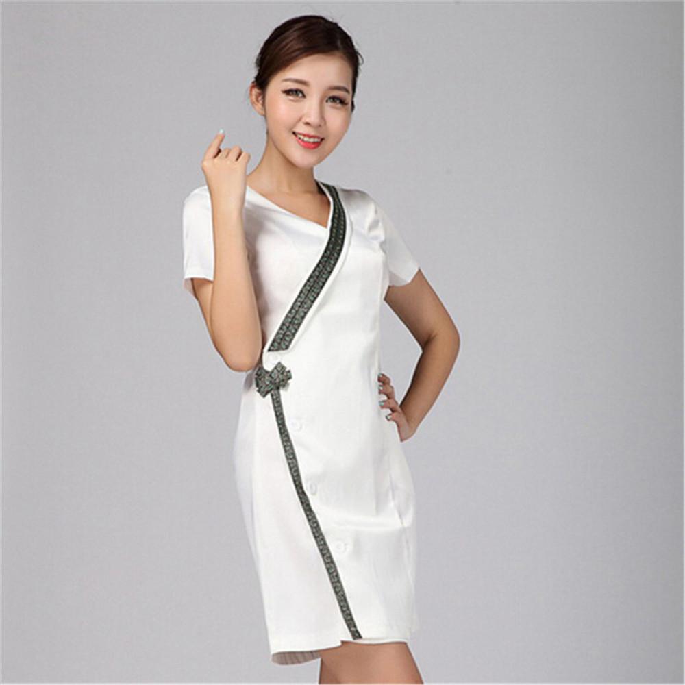uniformes hospital nursing scrubs medical clothing lab coat/doctor nurse overalls Medical/women work wear dress Thai technicians(China (Mainland))
