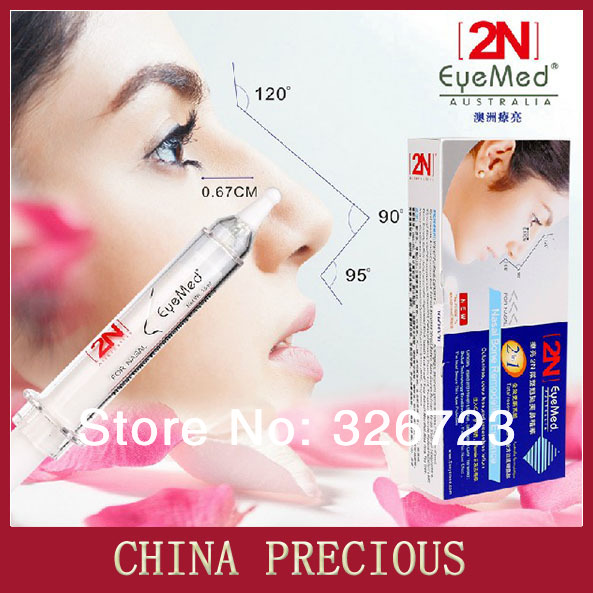 Free Shipping Brand New 2n nose rise heighten slimming shaping product Powerful needle cream innovative product(China (Mainland))