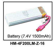 Original battery for Walkera 4F200LM RC Helicopter Parts 7.4V 1500mAh Battery