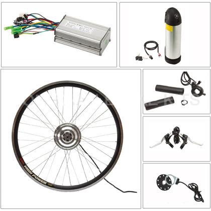 36v 250w brushless geared hub motor ebike conversion kit+36v 11ah li-polymer tube type battery electric bicycle(China (Mainland))
