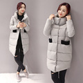 Women Warm Coat Fashion Winter Down Cotton Coat Loose Long Women Cotton Padded jacket Woman Coat
