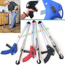 """32"""" Novelty Foldable Aluminium Pick Up Grabber Trash Clamp Suction Cup Reacher 80cm Long Reaching Claw Helping Hand Tool(China (Mainland))"""