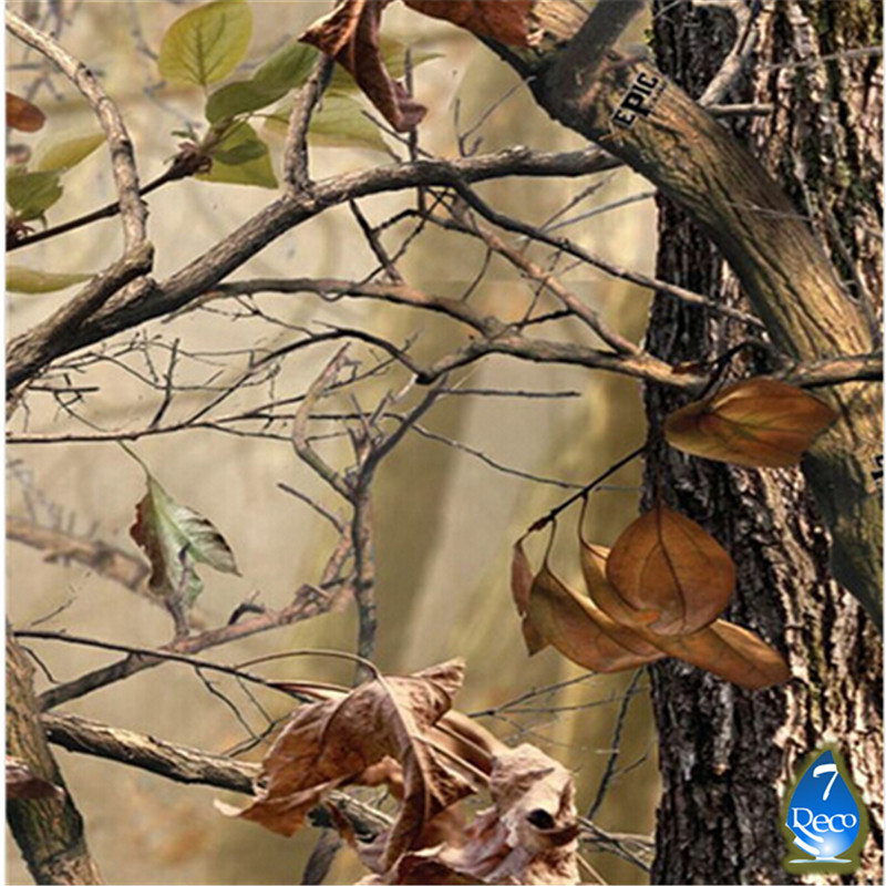 [Width 0.5M]Autumn Tree Fallen Leaves Pattern Water Transfer Printing Film HL66-S, 10M Hydrographic film Pva Water Soluble Film(China (Mainland))