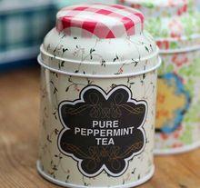 Free shipping 3pcs/lot Lovely cylindrical iron boxes Circular receive tea pot coffee pot candy box Storage Bottles storage Jars(China (Mainland))