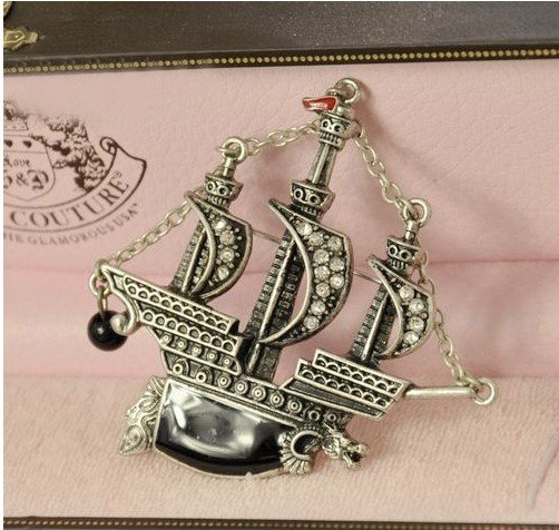 Viking Party Boat Viking Ship Brooch,boat