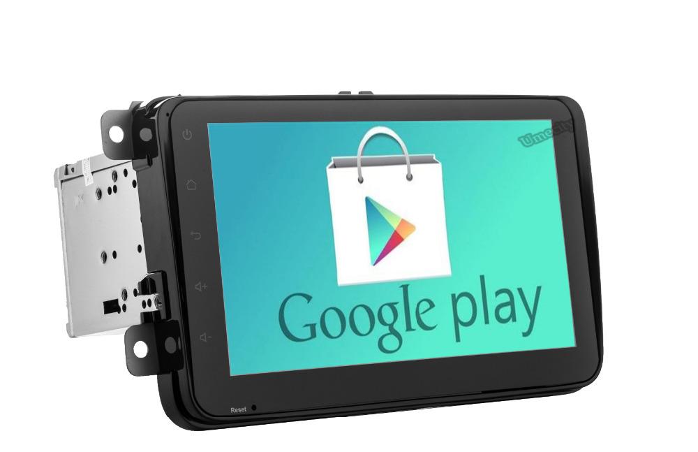 1024*600 Quad Core Android 4.4 Car DVD Volkswagen VW Tiguan Polo Golf Passat Jetta Car GPS Navigation Radio 3G wifi + 16GB ROM(China (Mainland))