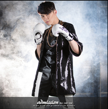 HOT new Male and female performance clothing chain Sequined coat singer costumes jazz dance DJ sexy long coat nightclub(China (Mainland))