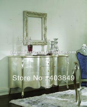 Hot neoclassical silver furniture NC120124