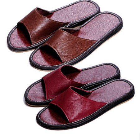 summer slippers home 2015 new fashion cow muscle non-slip shoes flat women - bags and store
