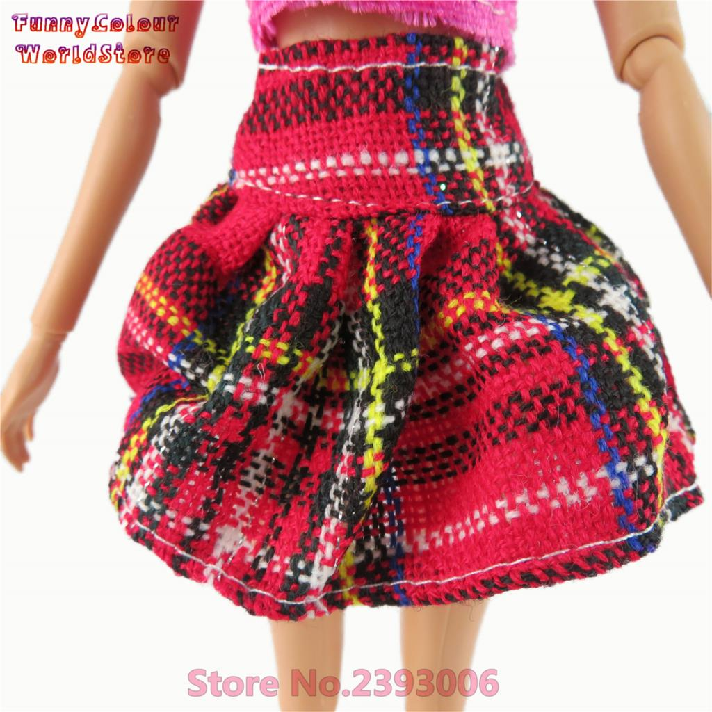 2 Pcs/ Set Vogue Quick Gown Lovely Handmade Occasion Outfit Barbie Doll Garments For Barbie Dolls Gown Lady's Reward #zero12A