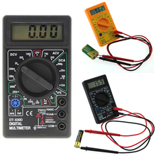 Buy Mini Digital Multimeter Buzzer Voltage Ampere Meter Test Probe DC AC LCD Multimeter buzzer diagnosis for $4.29 in AliExpress store