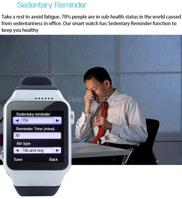 ZGPAX S39 Smart Watch Wristwatch, 1.54 LED Display Bluetooth Camera, FM vedio, MP3, GSM Network(China (Mainland))