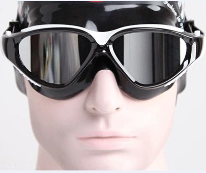 Brand Swim Goggles Plating Mirrored uv anti fog Silicone Swimming Glasses Waterproof for Men Women Adults Sport Blue Red(China (Mainland))