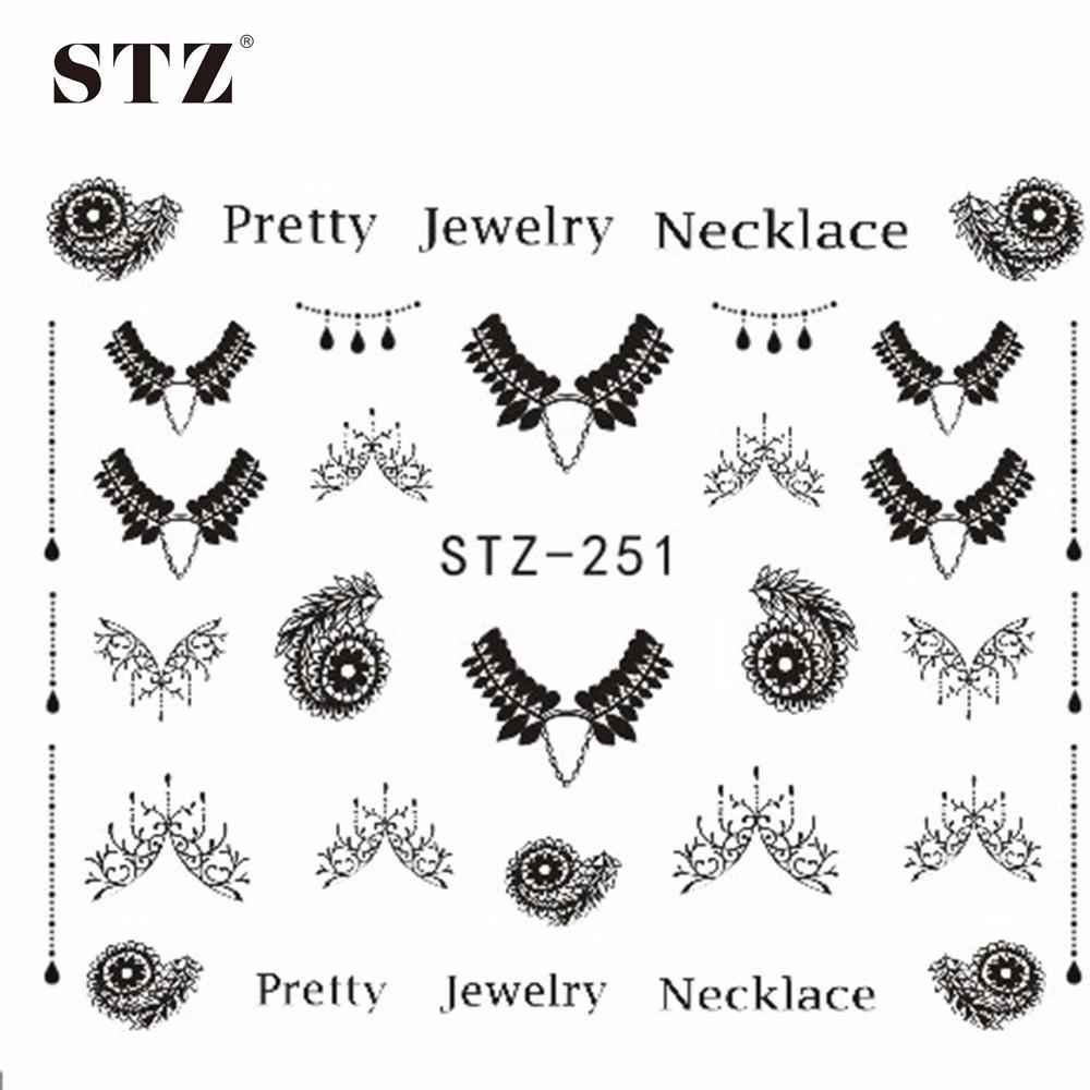 Наклейки для ногтей 1 DIY stz249/251