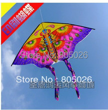 Free shipping hot sell peacock butterfly kite 20 pcs/lot cheap kite flying toys nylon ripstop kite with handle line wei kite(China (Mainland))
