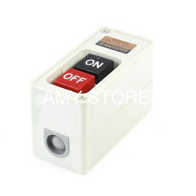 CBSP-315 Type Rectangle Control Box Srew Connector Momentary Push Button Switch(China (Mainland))