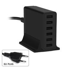 [-Port + auto rilevare] choetech c0041 50 watt caricatore rapido parete multi usb per ipad (5v2. 4a max)/iphone 6 s/6 s +/samsung s6 e più(China (Mainland))