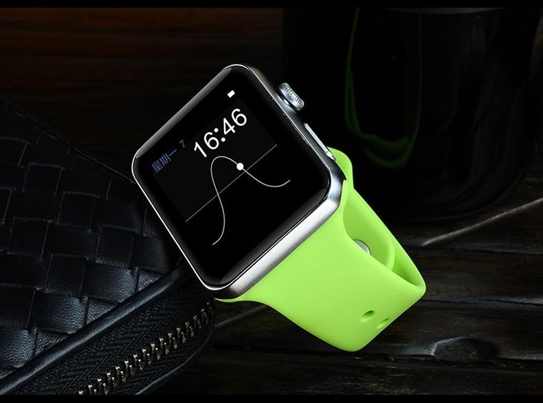 ถูก DM09บลูทูธสมาร์ทนาฬิกาโทรศัพท์2.5D ARC HDหน้าจอสนับสนุนซิมบัตรS Mart W AtchเมจิกลูกบิดสำหรับIOS A Ndroidยกมือเพื่อlight up