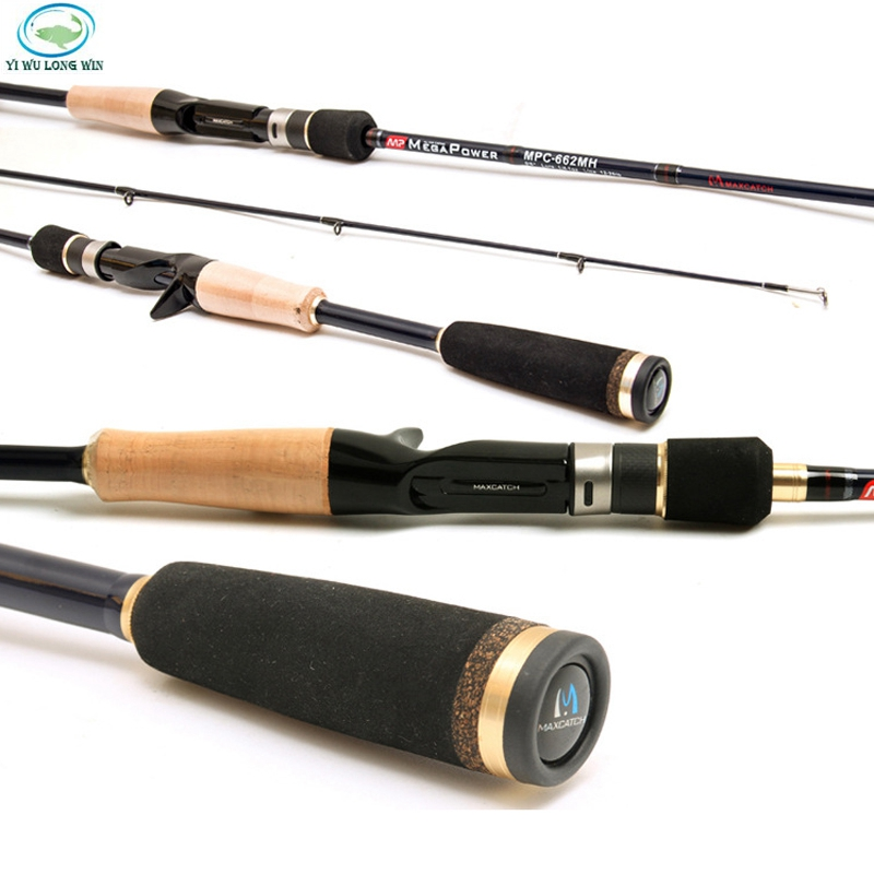 Free shipping brand stream fishing rod spinning for Best fishing pole brands