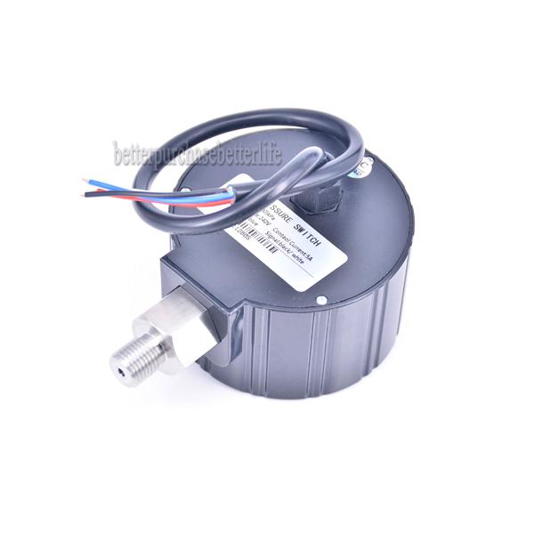 0 to -0.1Mpa 240VAC G1/4 0.5% Air Negative Vacuum Digital Pressure Switch