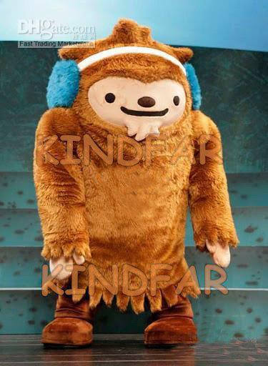Hot sale 2014 Adult Vancouver 2010 Winter OLYMPICS SUMI Mascot Costume Fancy Dress Cartoon Party Outfits(China (Mainland))