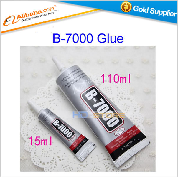 Free shipping 110ml+ 15ml Multipurpose adhesive B7000 DIY Tool cellphone LCD Touch Screen middle Frame housing B-7000 Glue<br><br>Aliexpress