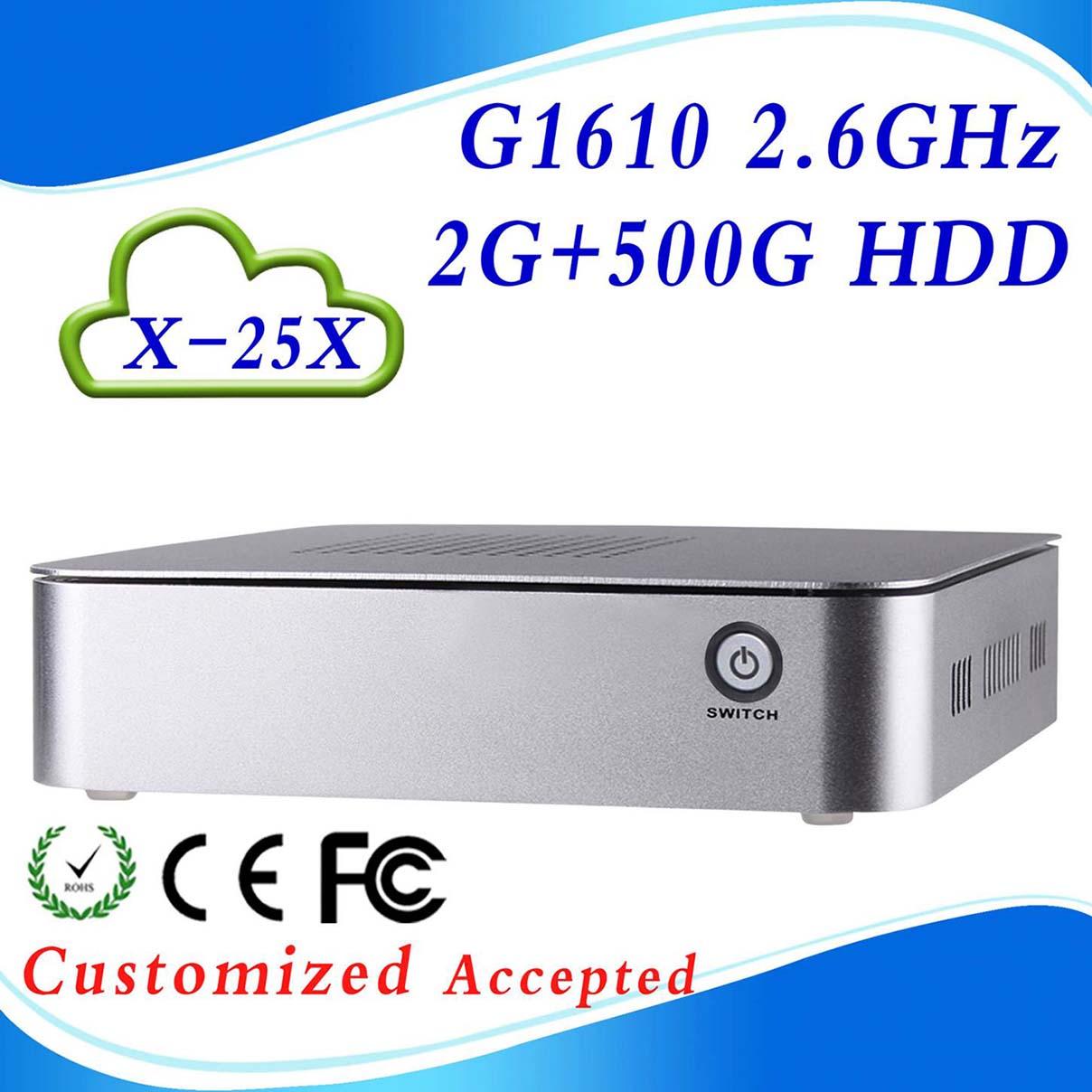 Здесь можно купить  window xp computer mini pc tv box mini pcs  X-25X G1610 2G RAM 500g hdd support wifi video, usb window xp computer mini pc tv box mini pcs  X-25X G1610 2G RAM 500g hdd support wifi video, usb Компьютер & сеть