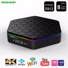 Buy T95Z Plus Smart Android TV Box Amlogic S912 Octa core 2G/16G Android 6.0 smart TV Box WiFi BT4.0 2.4G/5.8G H.265 4K Media Player for $72.89 in AliExpress store